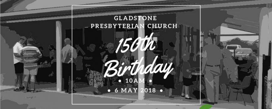 Celebrating 150 years!